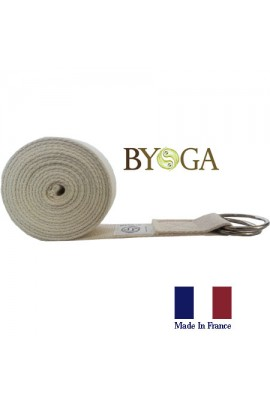 Sangle Yoga Asanas Classique 2.5M France Byoga