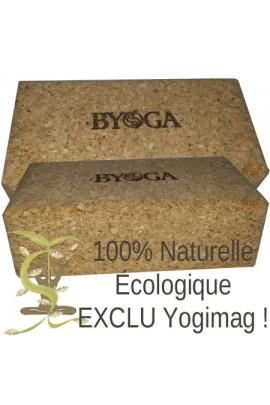 Brique Yoga Eco Naturelle Liège 75 Byoga