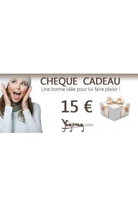 Chèque Cadeau 15 €