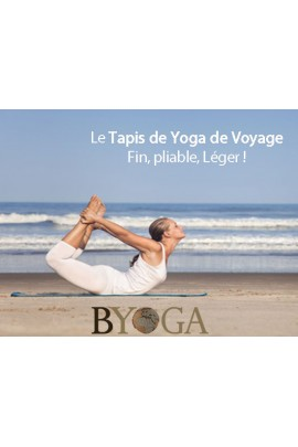 Tapis de Yoga Léger Voyage Byoga