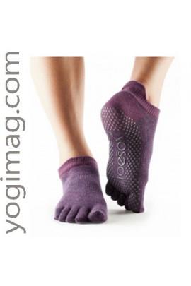 chaussettes yoga ballerine antid rapante les v tements yogimag. Black Bedroom Furniture Sets. Home Design Ideas