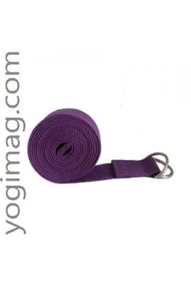 Sangle de Yoga Violette