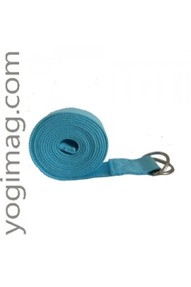 Sangle de Yoga Turquoise d'exercices ajustable