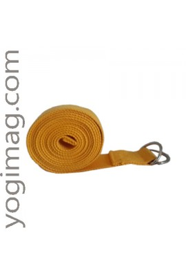 Sangle de Yoga Safran