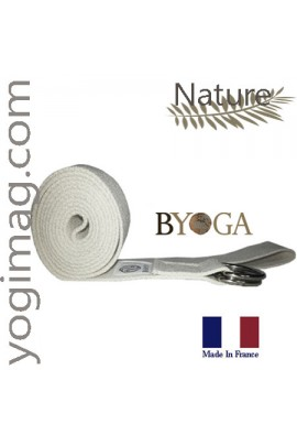 "Sangle de Yoga Réglable Multyoga Byoga ""2 en 1"" Transport tapis"