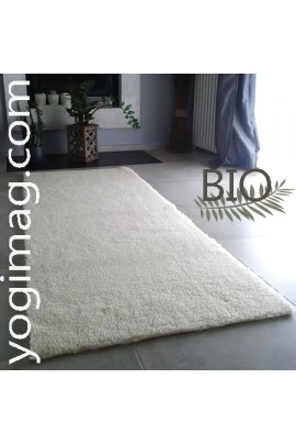 grand tapis de yoga en laine bio large pais chaud au sol yogimag. Black Bedroom Furniture Sets. Home Design Ideas