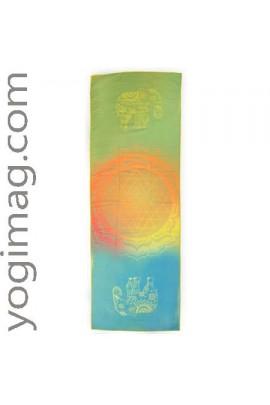Serviette pour tapis yoga asanas