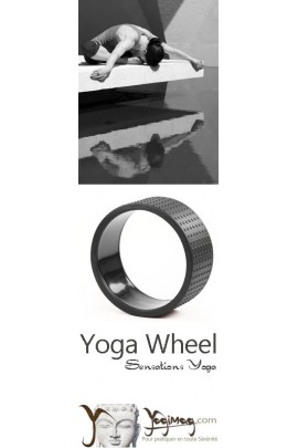 Yoga Wheel Black Power