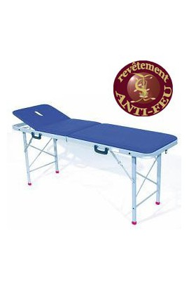 Table de massages aluminium PRO  SISSEL