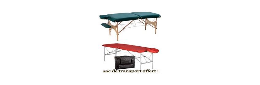 Tables de Massages