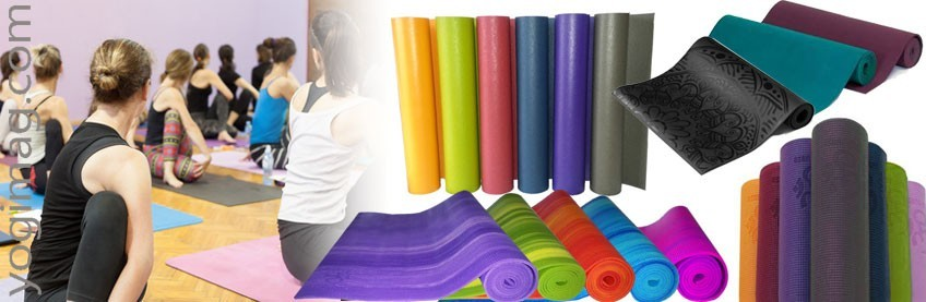 Tapis de Yoga PVC 4 à 6mm