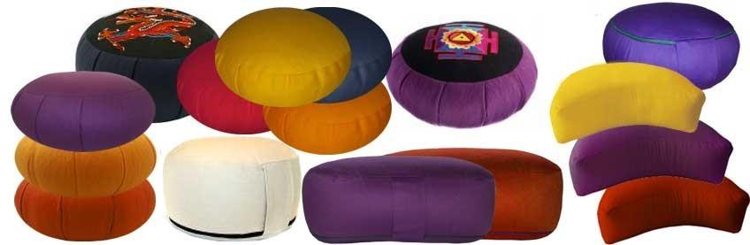 coussin m ditation zafu en peautre fuzen de voyage petits coussins rondo yogimag. Black Bedroom Furniture Sets. Home Design Ideas
