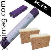 Accessoires de yoga pour débutant kit yogimag