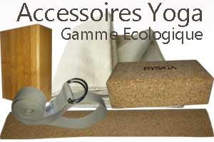 Accessoires de yoga ecologique naturel Yogimag