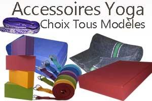 Accessoires materiel Yoga Yogimag