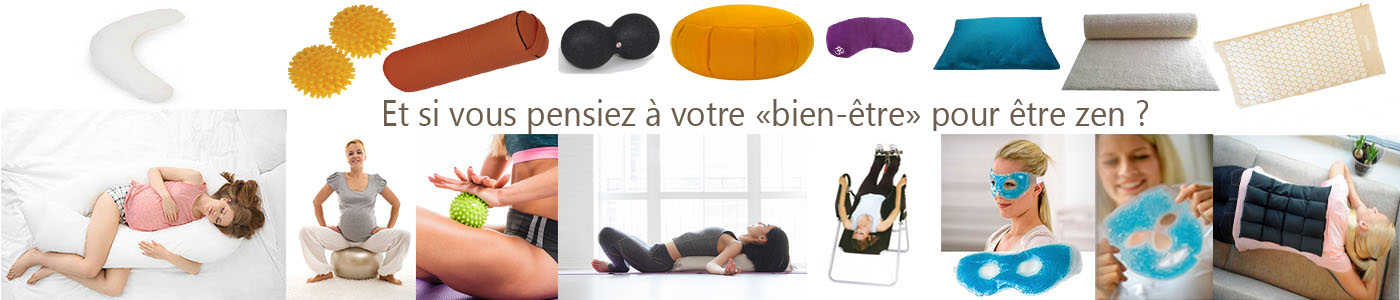Articles de bien-être - Boutique yoga Yogimag