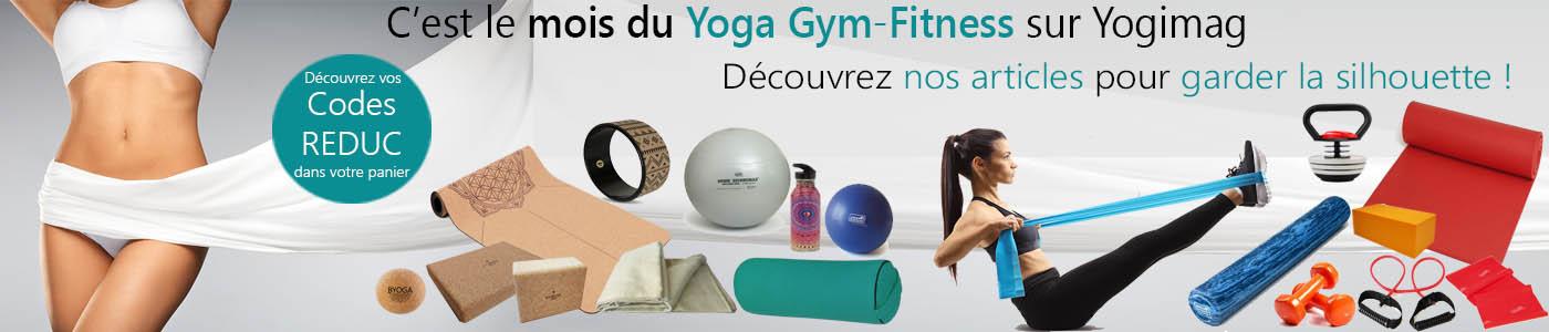 Articles de yoga gym fitness pour le bien-être sur la boutique Yogimag