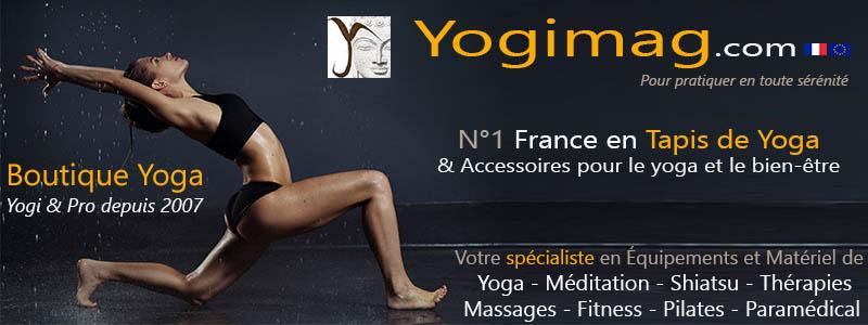 Boutique articles pour le bien-être Yogimag