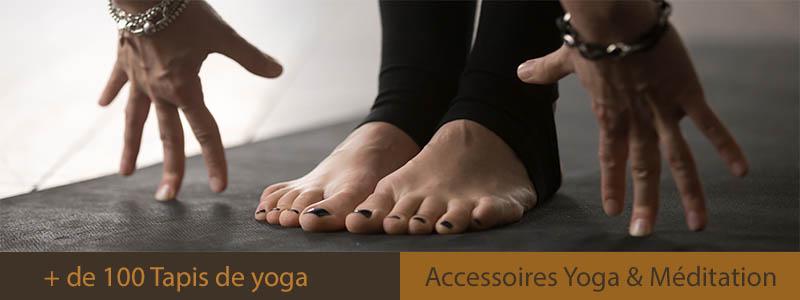 Boutique tapis de yoga Yogimag - Accessoires de yoga, méditation et bien-être