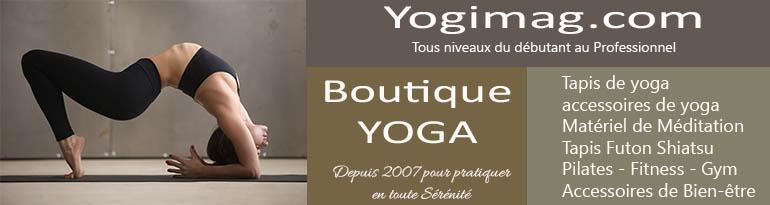 Boutique en accessoires de yoga - Yogimag