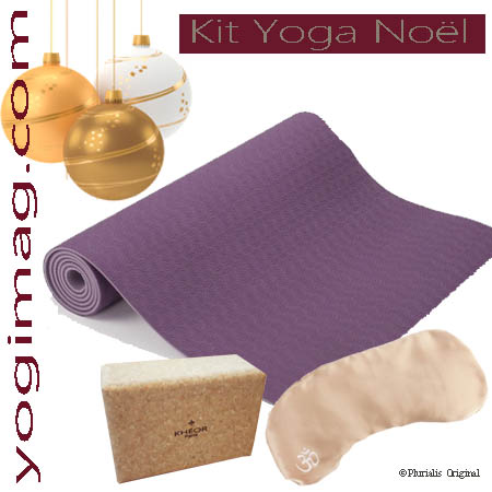 Kit Yoga cadeau pour Noël