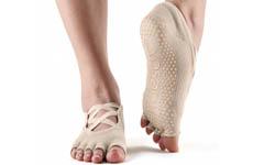 Chaussettes de yoga antidérapantes