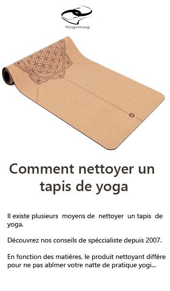 Comment nettoyer un tapis de sol pour le yoga ?