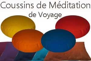 Coussin de méditation de Voyage Yogimag