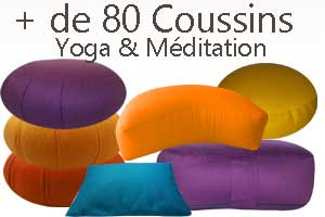 Coussin de Méditation Yoga Yogimag
