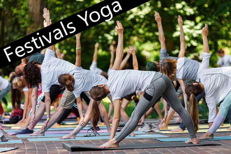 Les festivals yoga avec votre boutique yoga Yogimag