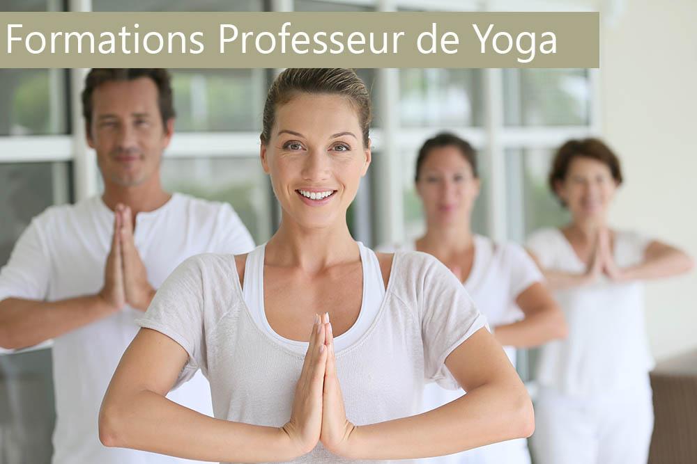 Formations professeur de yoga