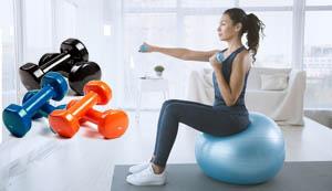 Haltère poids de musculation pour mincir perte du poids pendant le régime,  - articles de sport et gym Yogimag