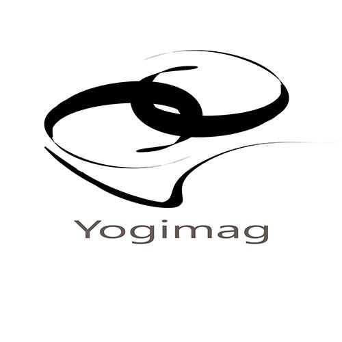 Le logo de la boutique yoga Yogimag change
