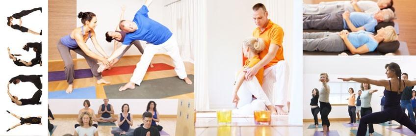 lot associations matériel de yoga tapis et accessoires, coussins de méditation futon shiatsu...