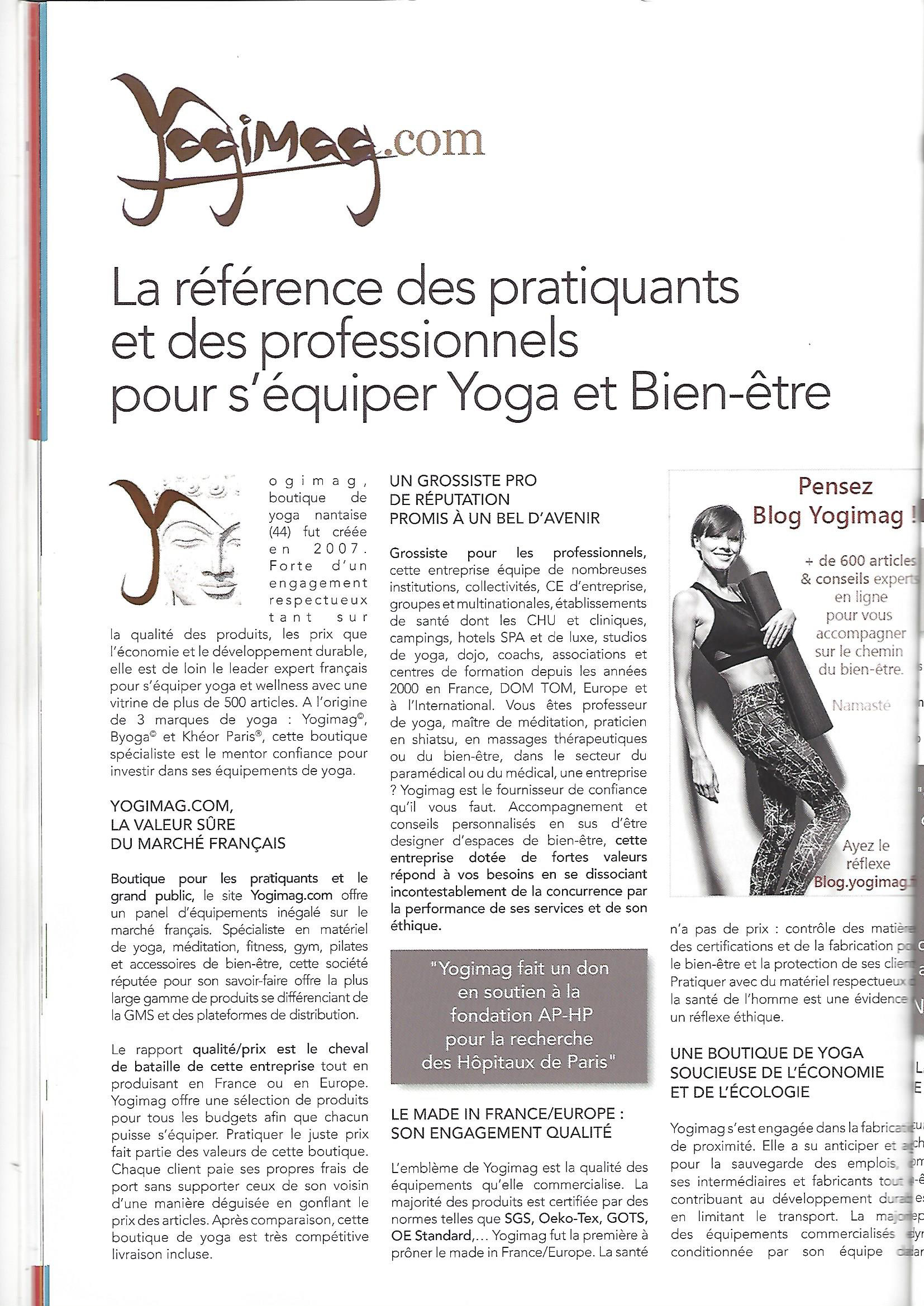 Yogimag dans Médical Magazine