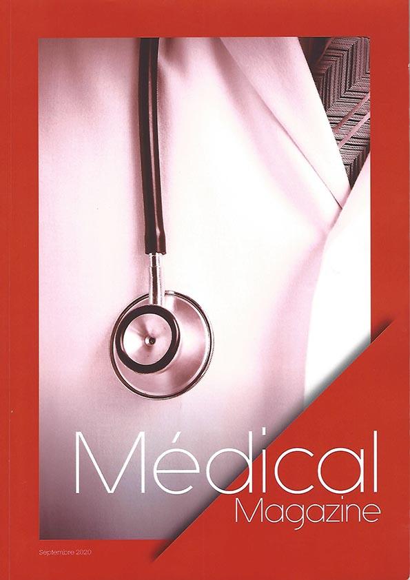 Yogimag dans le média Médical Magazine