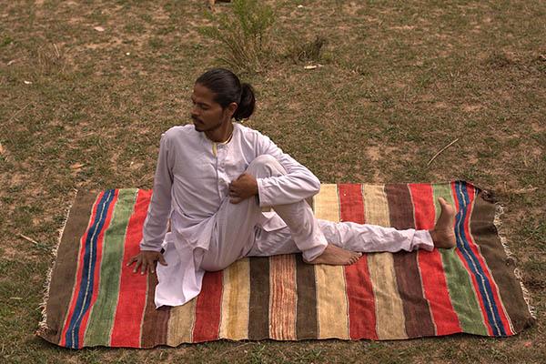 Le premier tapis de yoga