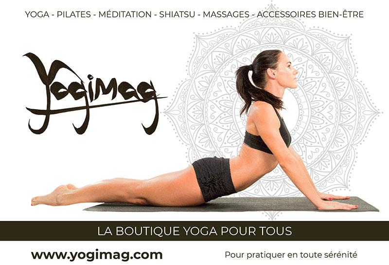Publicité Yogimag Journal Pépites