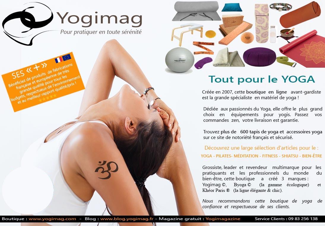 Yogimag dans le magazine Réponse à Tout