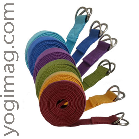 sangle de yoga, très pratique pour vos exercices de yoga avec yogimag