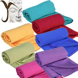 Serviette de yoga pour tapis