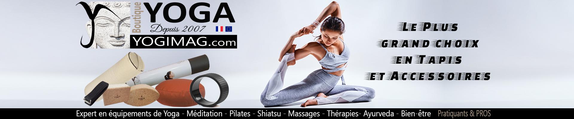 Yogimag boutique yoga à la une du site Esprit Yoga