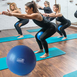 Soft ball ballon léger  de gym, fitness, pilates et yoga - Yogimag
