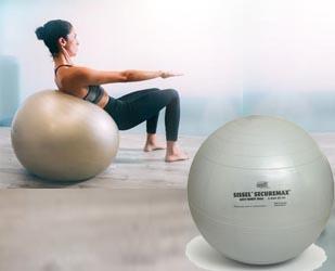 Swiss Ball gros ballon articles de sport  de renforcement musculaire  pour la perte de poids le régime et la minceur sur Yogimag