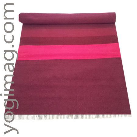 tapis de yoga naturel