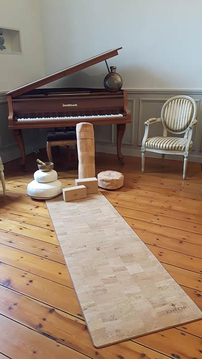 Tapis de yoga en liège Yogimag