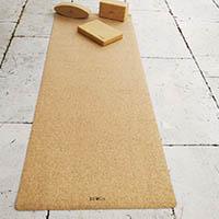 Tapis de yoga en liège Byoga©