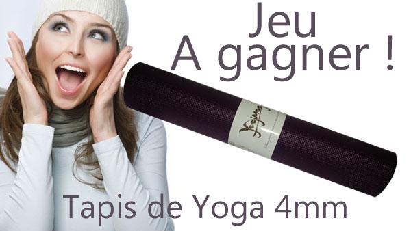 jeu yogimag à gagner un tapis de yoga