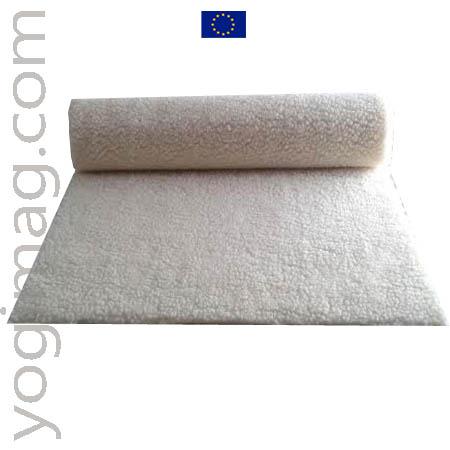 Tapis de yoga laine bio Yogimag made in Europe