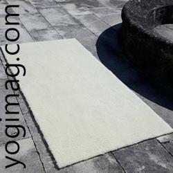 Tapis de yoga laine yogimag